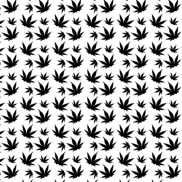 Weed Leaf Nail Decals Apeshit Clothing
