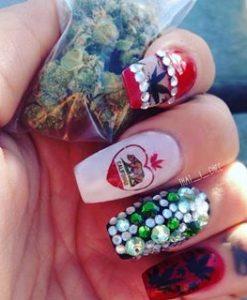 cali-weed-finger-nail-decals-7-apeshit-shirt-lady-marijuana-weed-leaf-decals-fingernail-apeshit-clothing