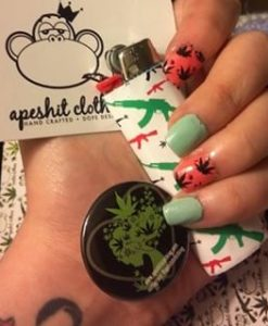 weed-finger-nail-decals-112-apeshit-shirt-lady-marijuana-weed-leaf-decals-fingernail-apeshit-clothing